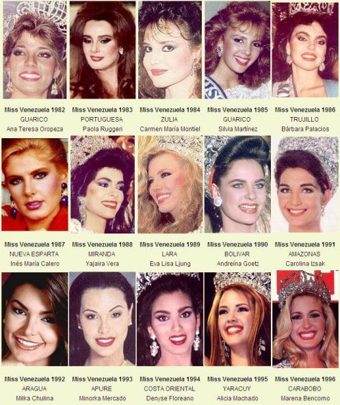 miss venevzuela 82-96