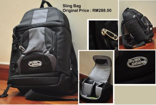 DSLR Sling Bag for sale